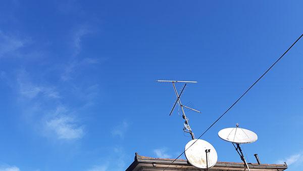 antene na krovu