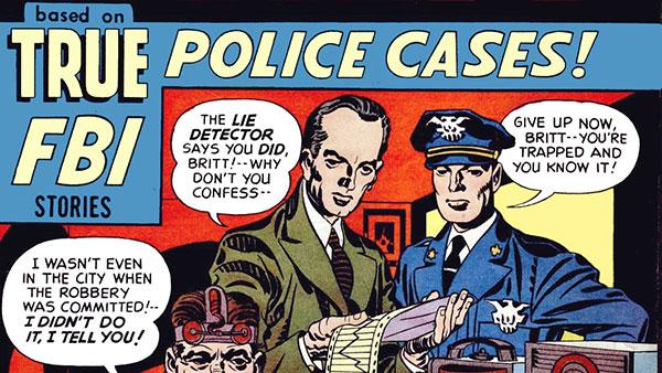 Joe Simon i Jack Kirby: Pravda stiže krivce (1949), Wikimedia Commons