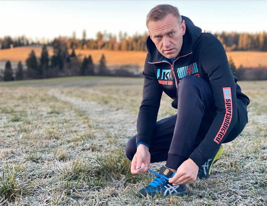 Aleksej Navaljni u Nemačkoj 26. novembra 2020.