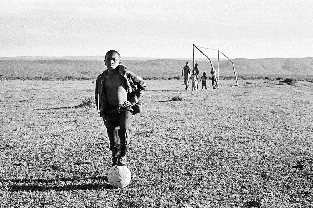 Ghana Soccer, dečaci iz Gane igraju fudbal