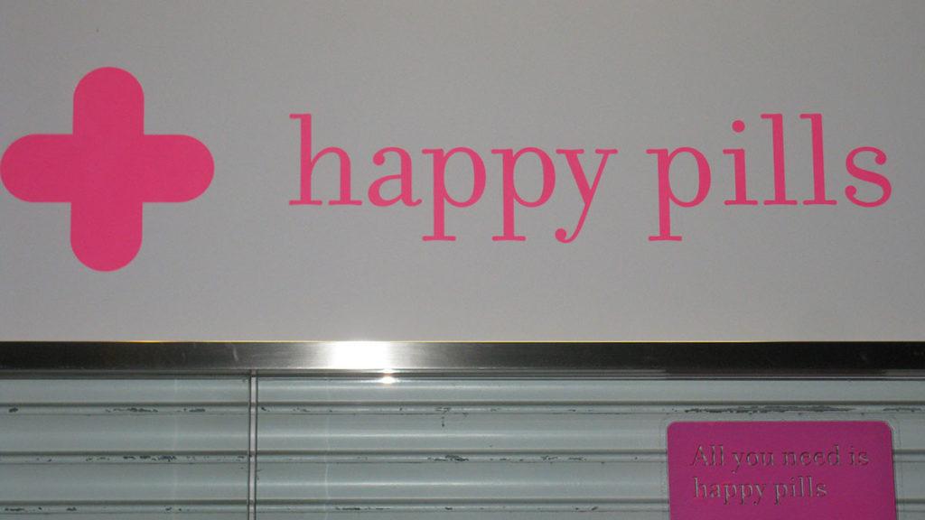 Reklama za Happy Pills