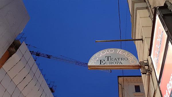 Tabla za Piccolo Teatro - Teatro d' Europa