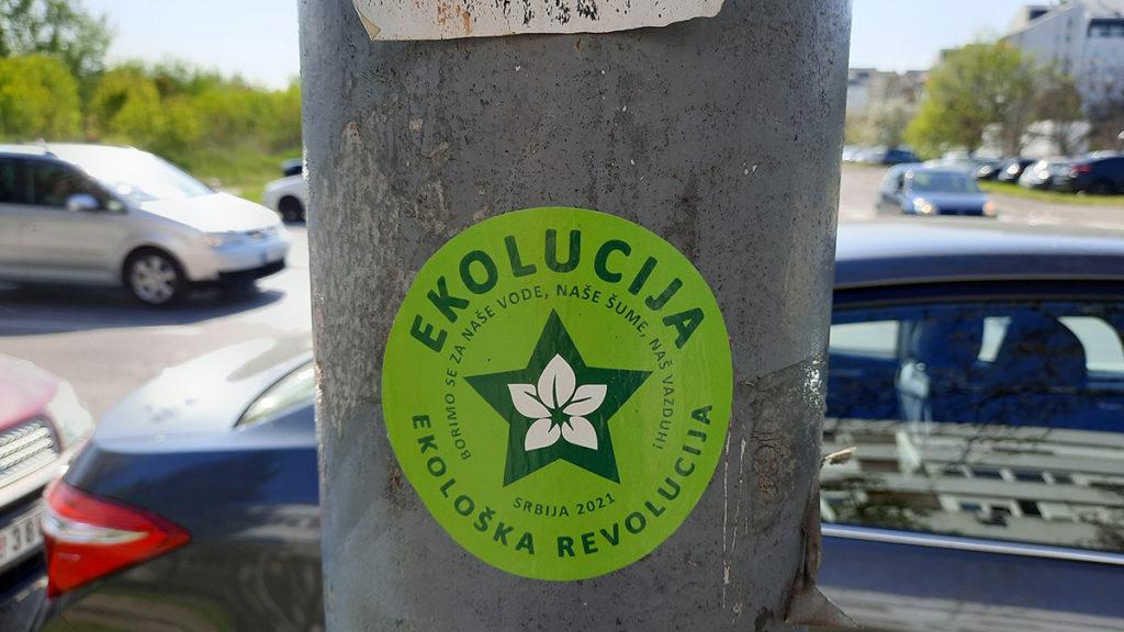 Nalepnica: Ekolucija -  ekološka revolucija