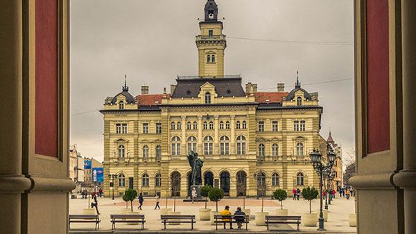 Gradska kuća u Novom Sadu, foto: Ribar Gyula