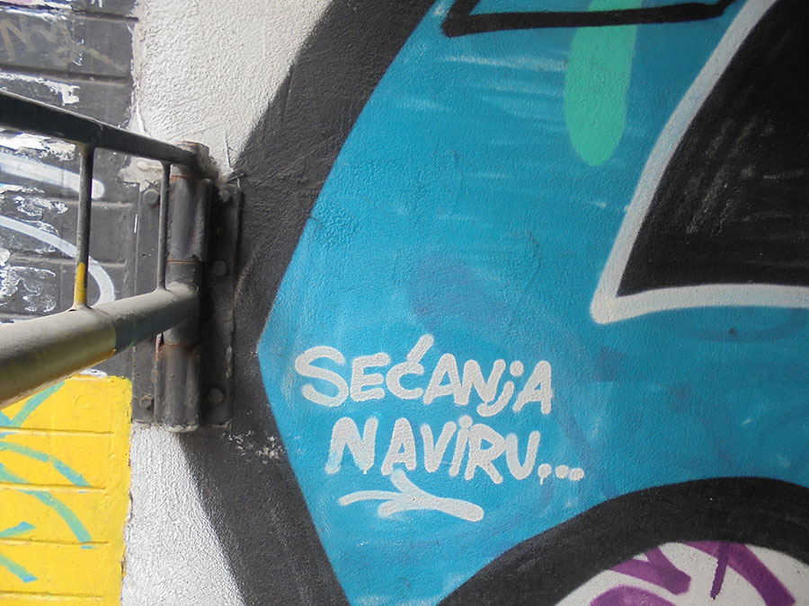 Grafit: Sećanja naviru...