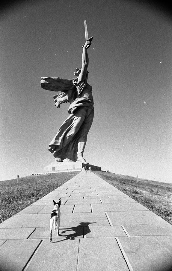 Statua Majka Rusija