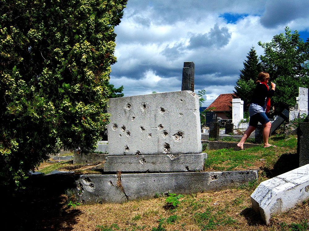 Jevrejsko groblje u Sarajevu, foto: Danny Towin/Wikimedia Commons