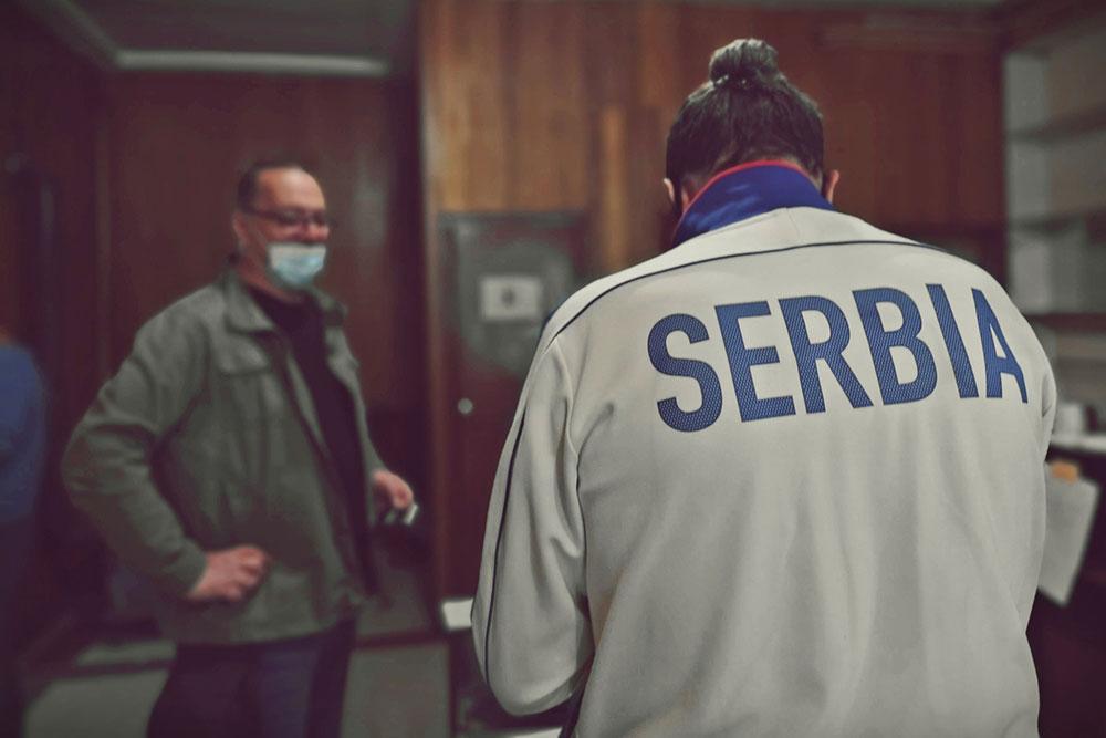 Natpis na dresu: Serbia