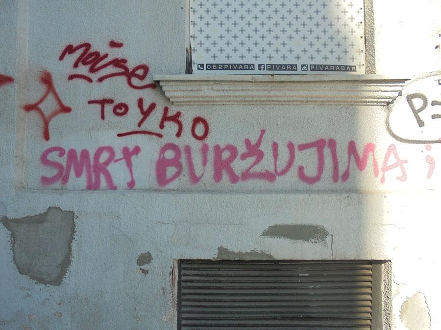 Grafit: Smrt buržujima