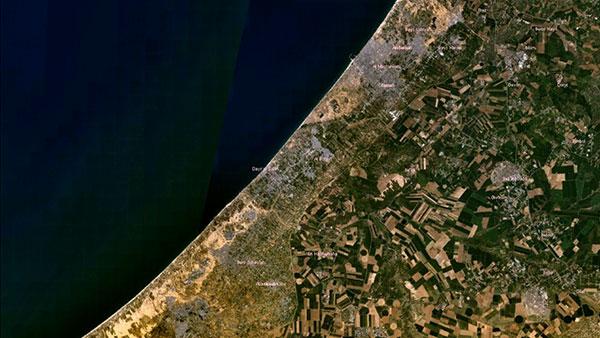 Gaza, foto: NASA/Wikimedia Commons