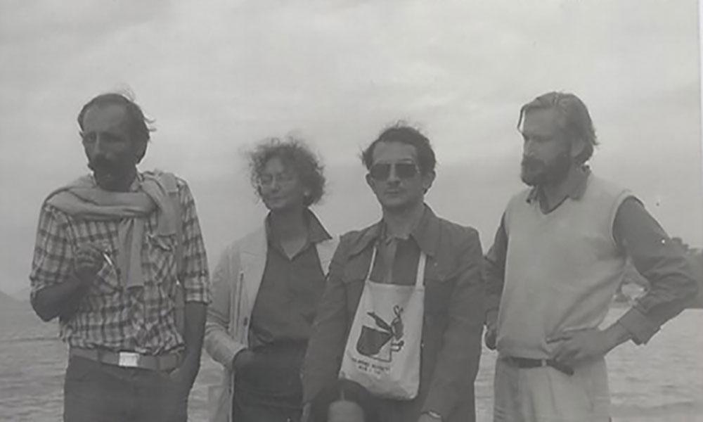 Vlada, Svetlana, Voja, Boža u Maniju, oktobar 1984, foto: iz autorkinog ličnog arhiva