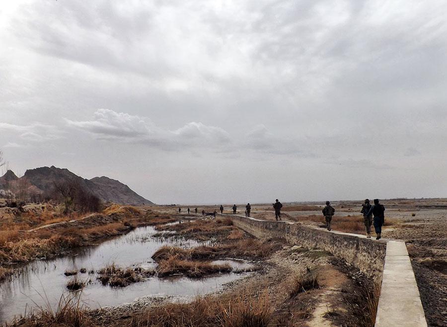 Patrola kod Kandahara, Avganistan