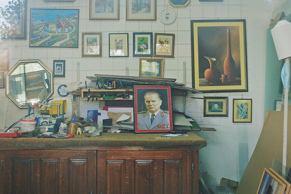 Titova slika u radionici