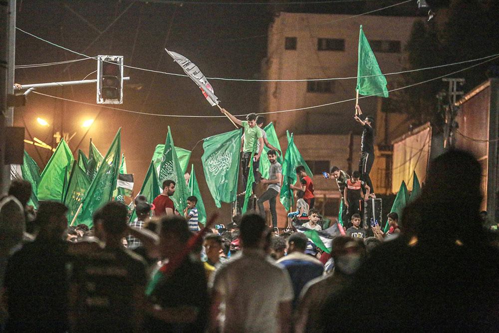 Palestinci u Gazi slave potpisivanje primirja