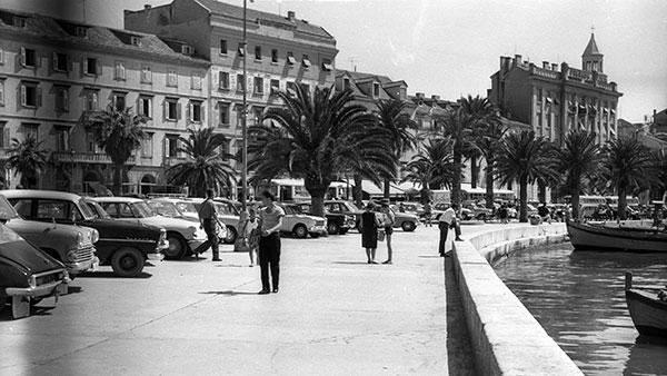 Splitska riva 1963, foto: Fortepan/Dobóczi Zsolt/Wikimedia Commons