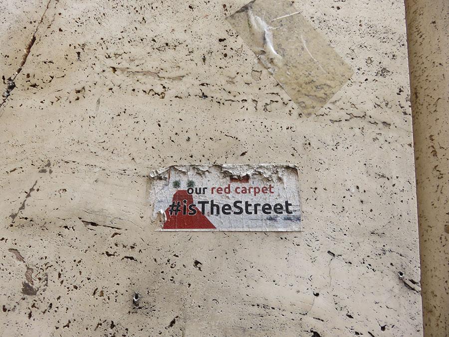 Ulica je naš crveni tepih, foto: Peščanik