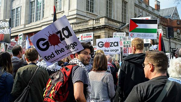 Protest protiv okupacije Gaze u Londonu