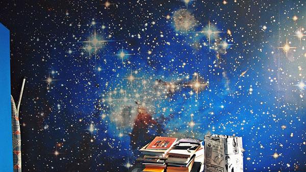 foto-tapet galaksije