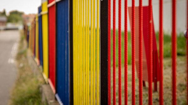 školska ograda