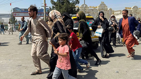 Kabul, Avganistan, 16.08.2021, foto: Reuters