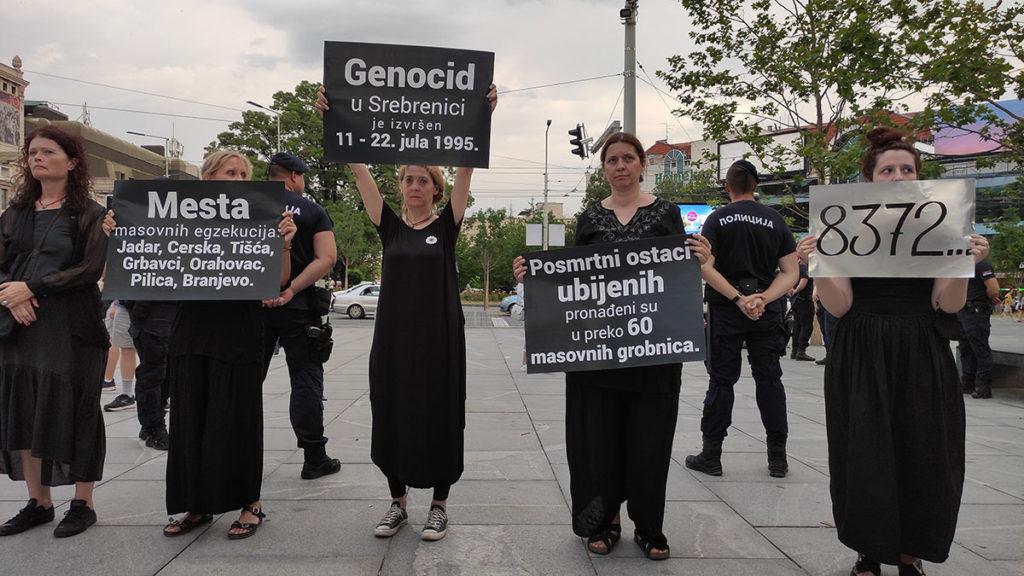 Žene u crnom, 10. jul 2021, foto: Peščanik