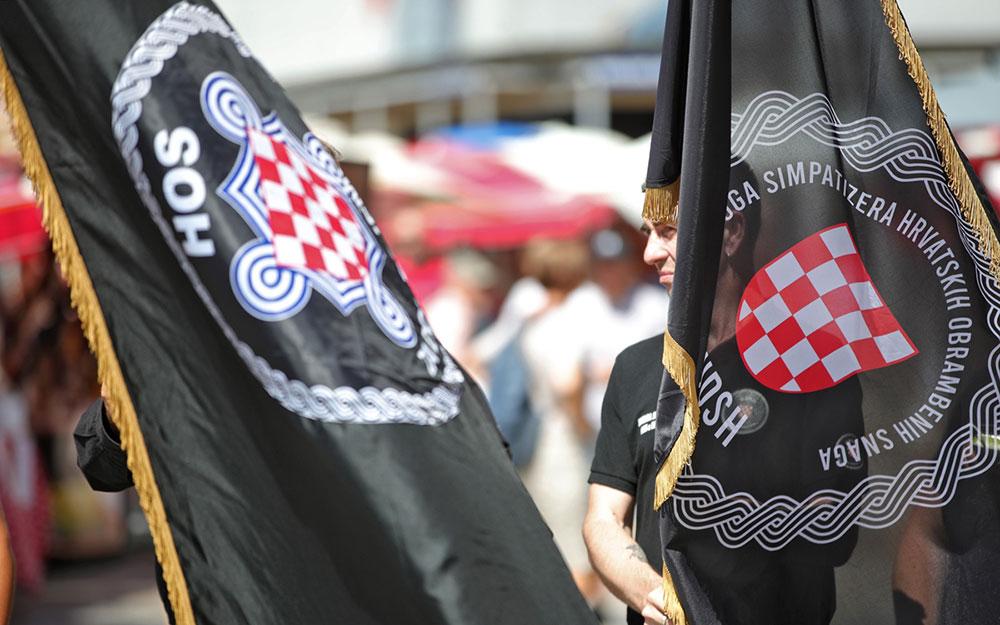 Članovi Udruge Simpatizera HOS-a otvoreno veličaju ideologiju nacističke NDH