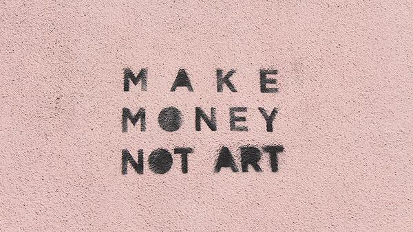 Stensil: Make money, not art