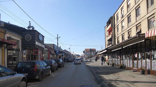 Beogradska ulica u Vranju