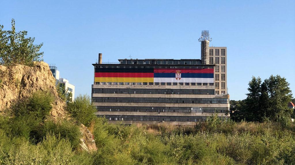 Zgrada BIGZ-a u Beogradu, septembar 2021, foto: HBS