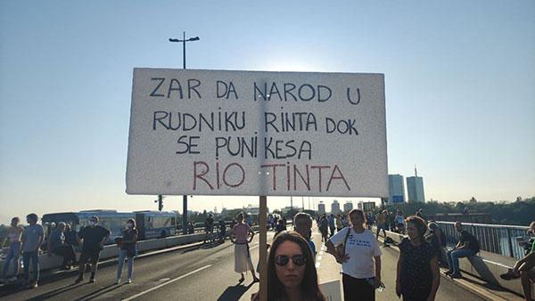 Brankov most u Beogradu 11.9.2021, foto: Peščanik
