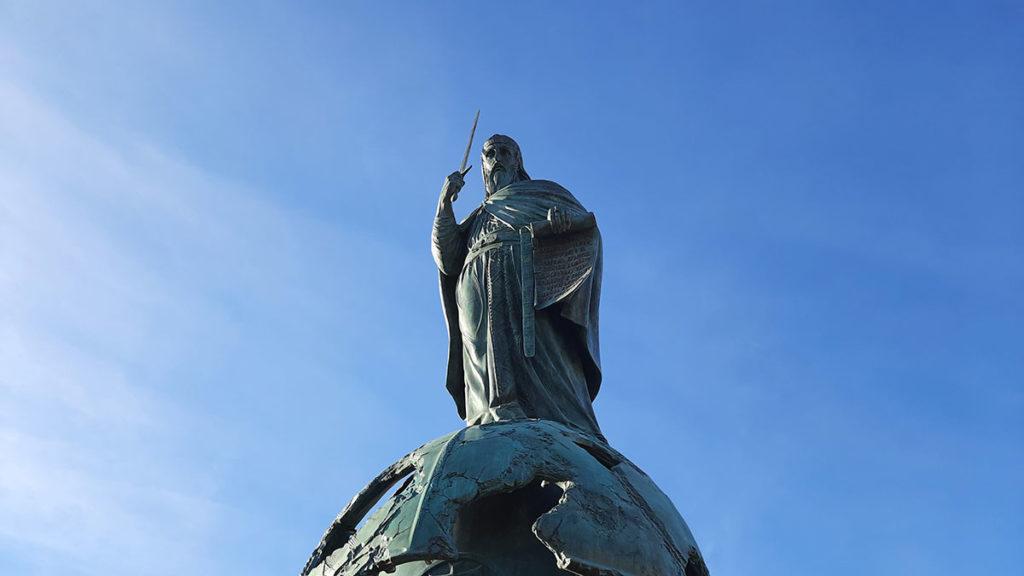 Spomenik Stefanu Nemanji na Savskom trgu