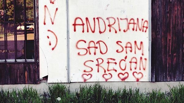 Grafit: Andrijana, sad sam srećan