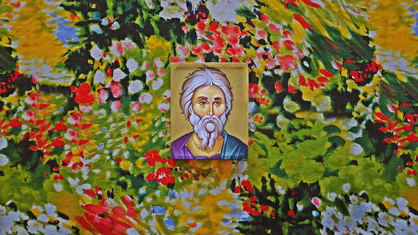 ikona nekog svetca