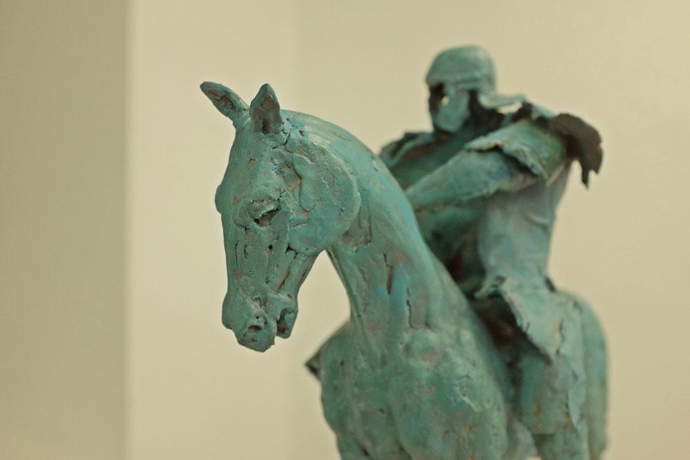 skulptura konjanika