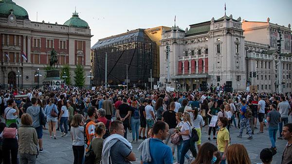 Protest Za bezopasan vazduh, 05.09.2021,Beograd, foto: Ivana Tutunović Karić