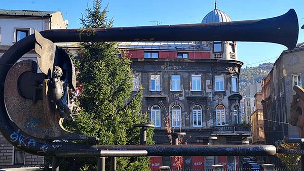 Hastahana park, Marijin dvor, Sarajevo, foto: Ines Tanović Sijerčić