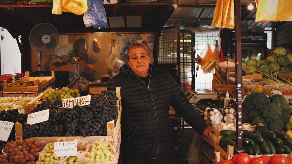 Mala pijaca u Bloku 45, foto: Sara Nikolić