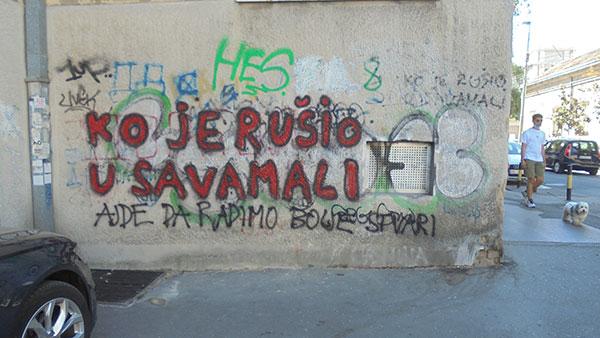 Grafit: Ko je rušio u Savamali